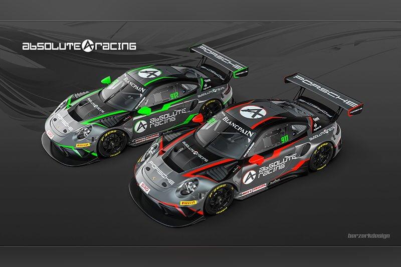 Absolute Racing - Porsche 911 GT3 E