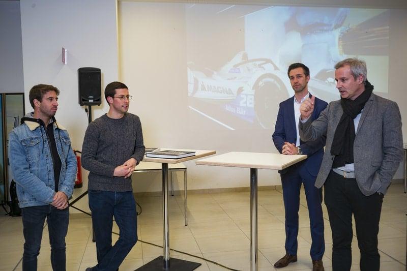 Antonio Felix Da Costa and Alexander Sims- BMW factory, Munich
