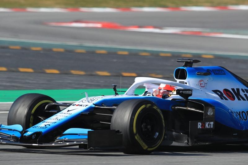 Robert Kubica - ROKiT Williams Racing - Pre-Season Test 1 - Circuit de Barcelona-Catalunya