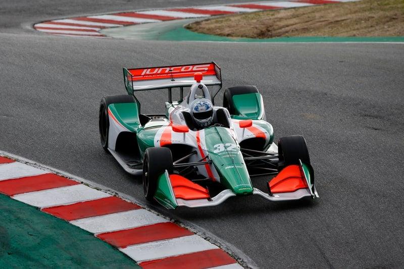 Kyle Kaiser (USA), 2019 NTT IndyCar Series, Laguna Seca, Juncos Racing