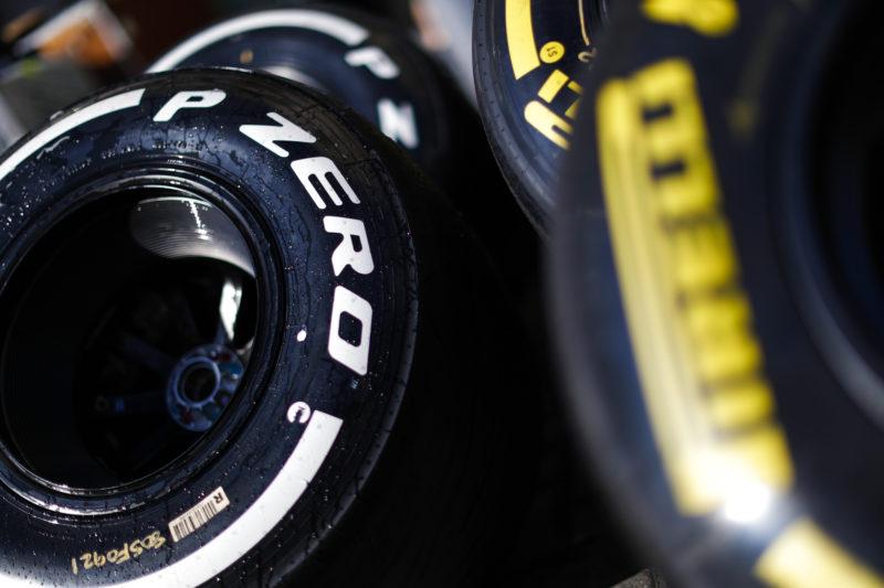 Pirelli tyres- 2018 Formula 1 Abu Dhabi Post-Season Test.