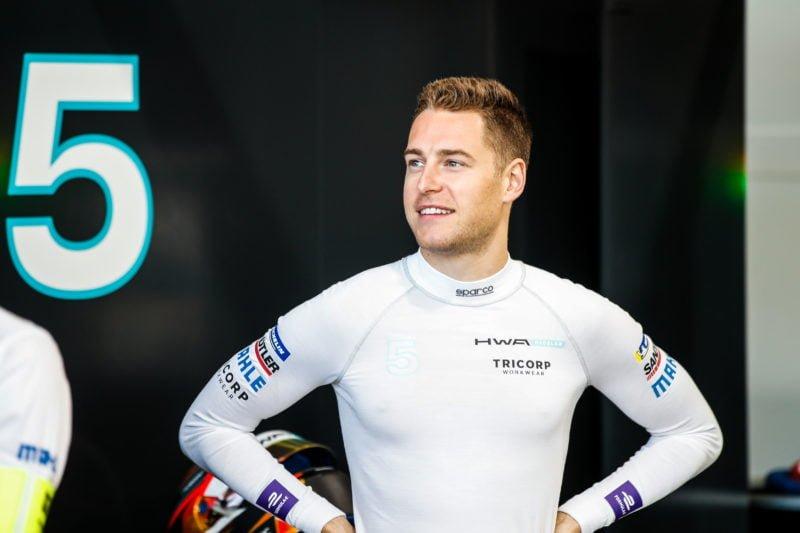 Stoffel Vandoorne - HWA RACELAB at the 2019 Santiago E-Prix.