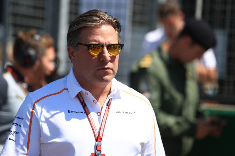 Zak Brown - 2018 British Grand Prix