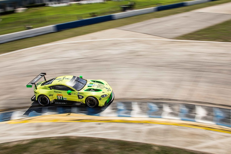 Aston Martin are looking like the LM GTE Pro team to beat.