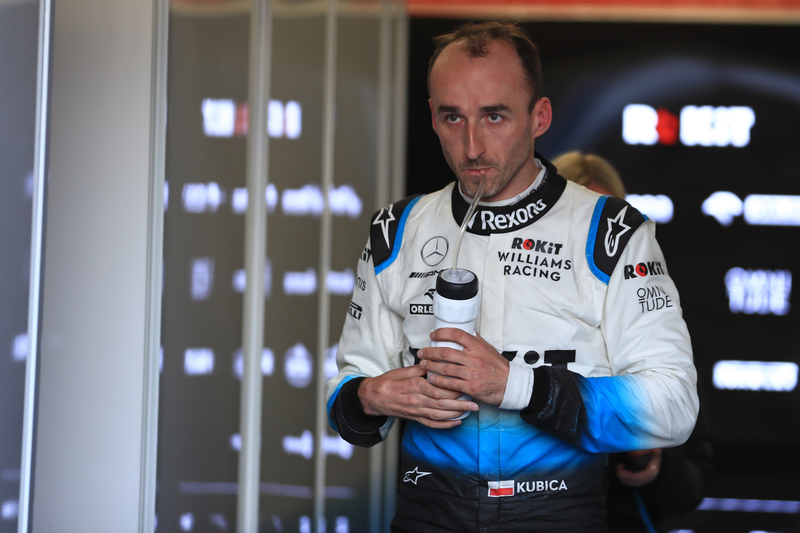 Formula 1 – Winter Testing - Test 2 - Day 2. ROKiT Williams Racing – Robert Kubica. Circuit de Barcelona-Catalunya. Wednesday 27th February 2019.