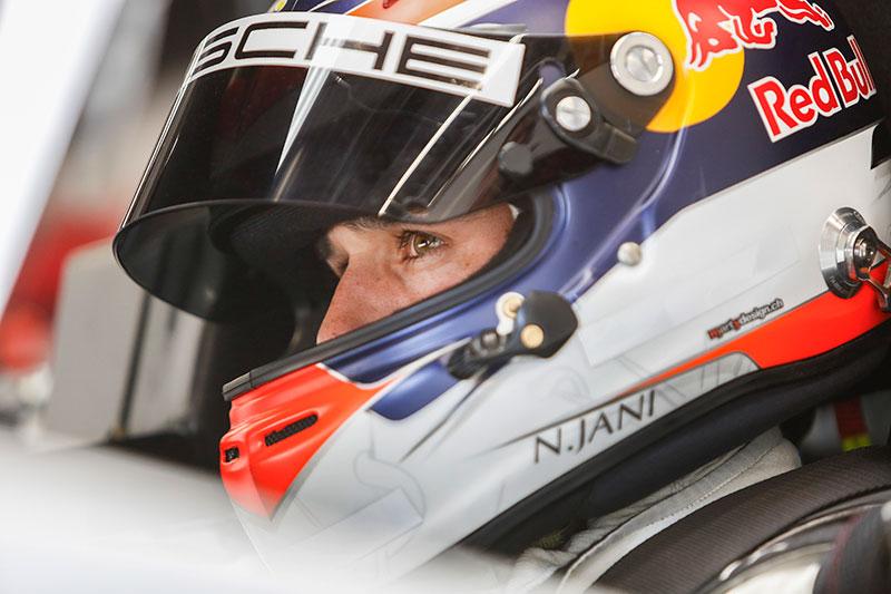 Neel Jani - Credit: Porsche