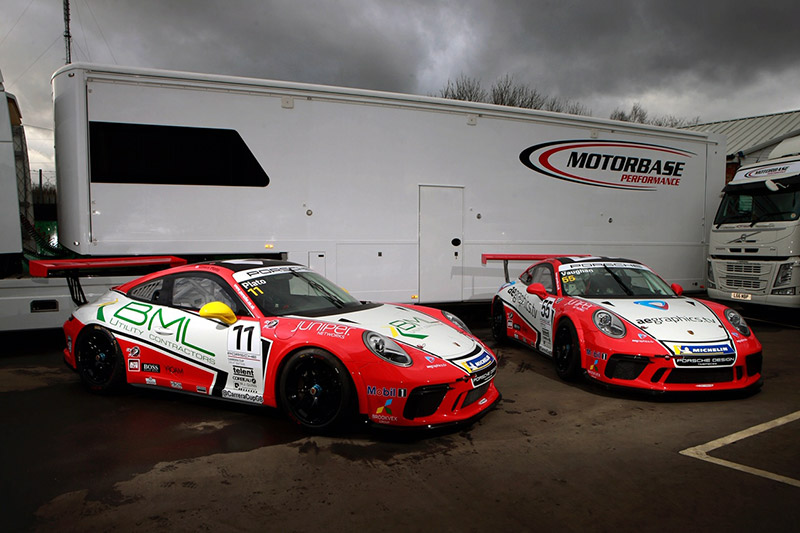 Motorbase Performance - 2019 Porsche Carrera Cup GB