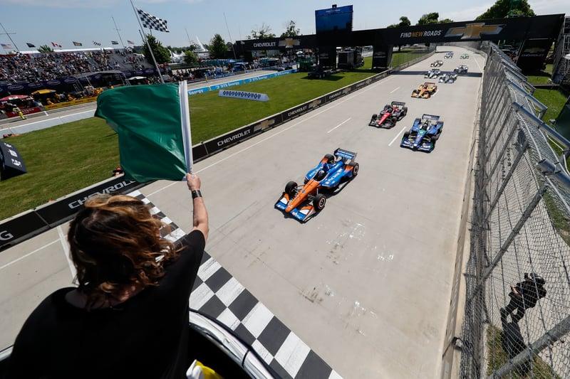2018 Verizon IndyCar Series, Duel In Detroit Race Start
