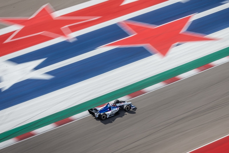 Graham Rahal (USA), 2019 NTT IndyCar Series, Rahal Letterman Lanigan Racing, COTA Pre-Season Test