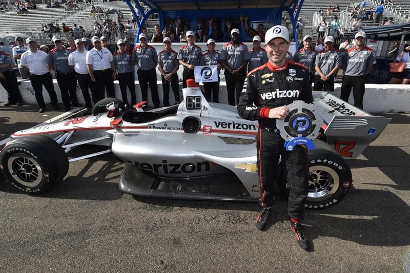 Will Power (AUS), 2019 NTT IndyCar Series, Team Penske, St. Petersburg Qualifying