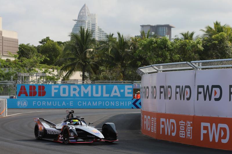 Oliver Rowland - Nissan e.dams at the 2019 Sanya E-Prix - Shakedown