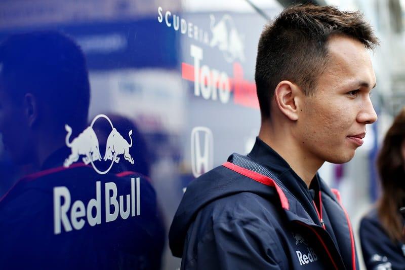 Alexander Albon - Red Bull Toro Rosso Honda - Baku City Circuit