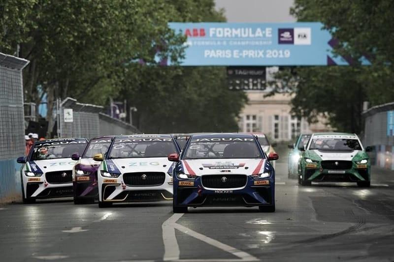 Paris Jaguar I-Pace eTrophy Race Start