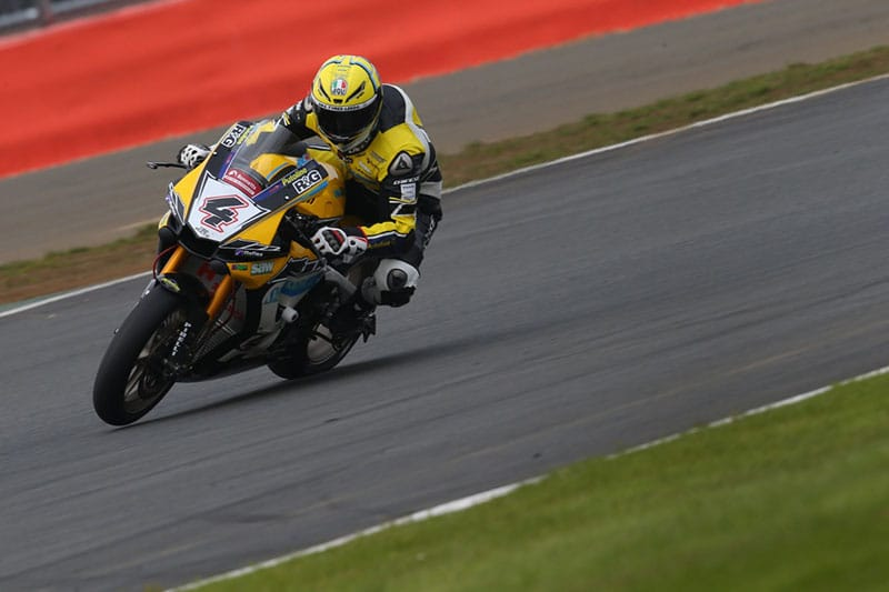 Dan Linfoot targets strong points at Silverstone