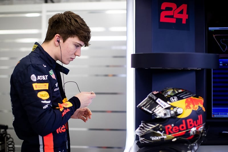Daniel Ticktum - Aston Martin Red Bull Racing - Sakhir International Circuit