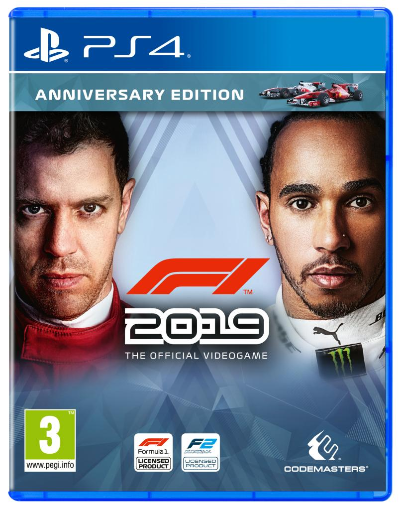 F1 Game Cover - F1 2019
