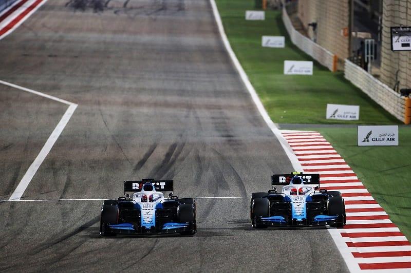 George Russell & Robert Kubica - Williams Racing - Sakhir International Circuit