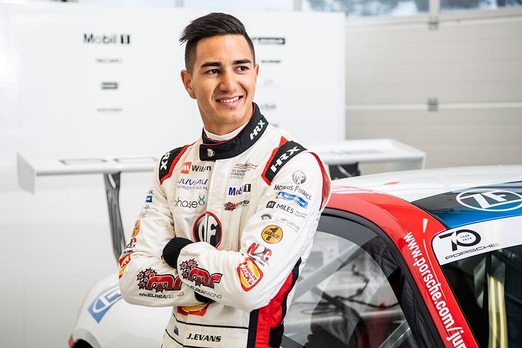 Jaxon Evans - Porsche