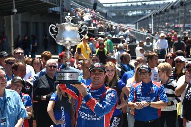 Jack Harvey (GBR), Schmidt Peterson Motorsports, 2015 Indy Lights, Freedom 100, Indianapolis
