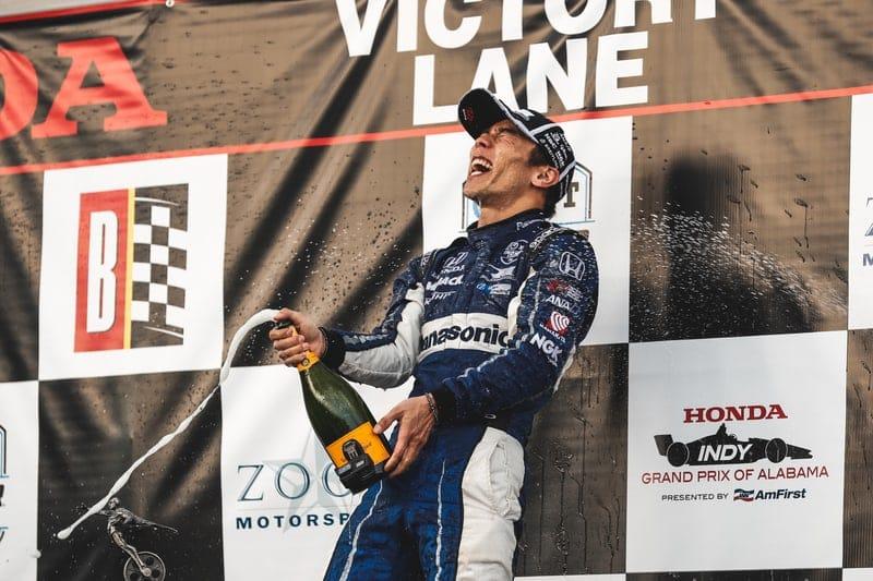 Takuma Sato (JAP), Rahal Letterman Lanigan Racing, 2019 NTT IndyCar Series, Barber