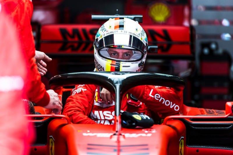 Vettel - Ferrari - China Race