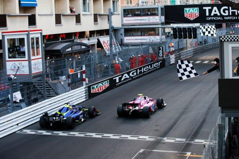 Hubert - Deletraz - F2 Monaco Sprint