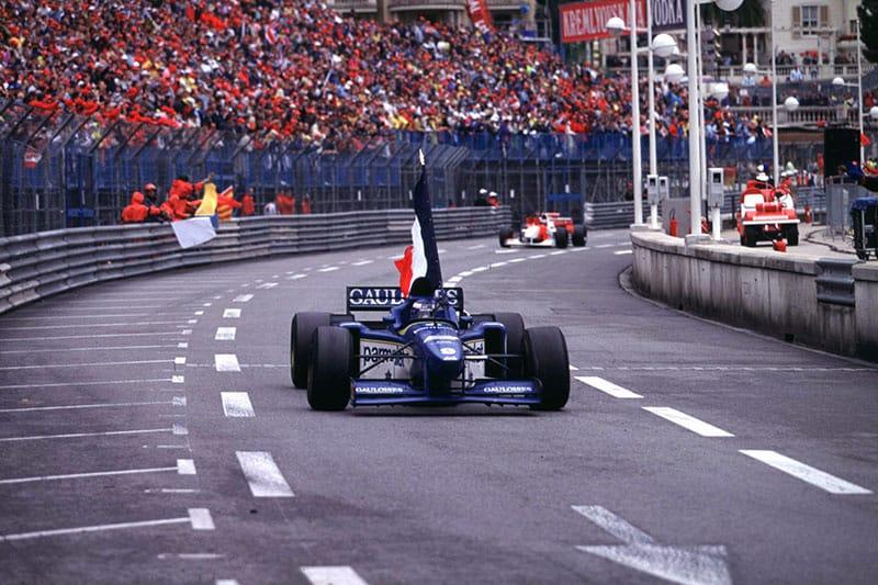 1996 Monaco Grand Prix - Olivier Panis