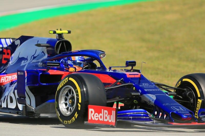 Toro Rosso - Honda - Albon - Spain