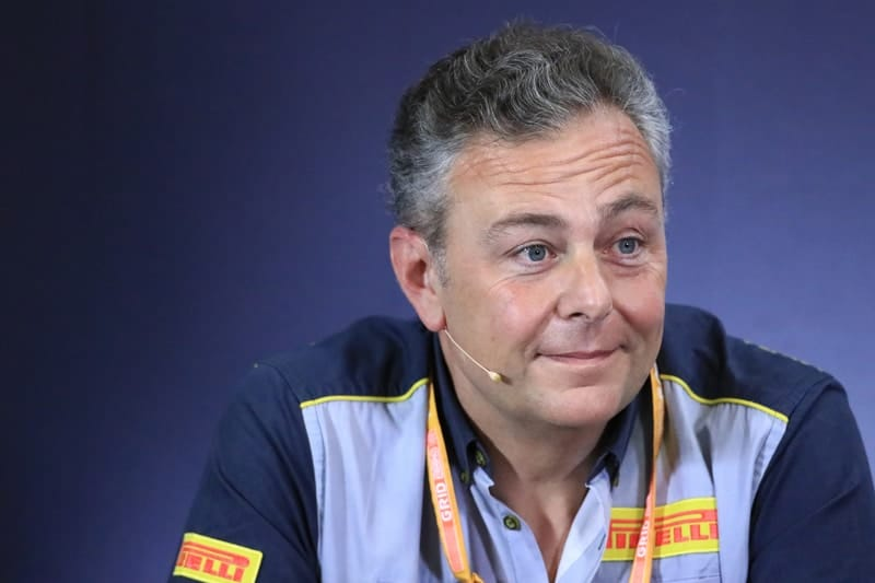 Mario Isola (Pirelli) - Formula 1 - 2019 Spanish GP
