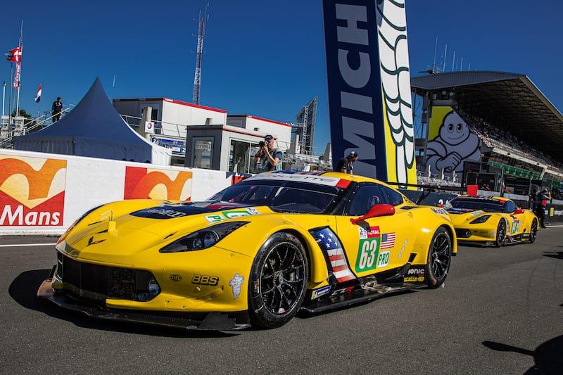 The Corvette Racing #63 LM GTE Pro entry Le Mans 2019