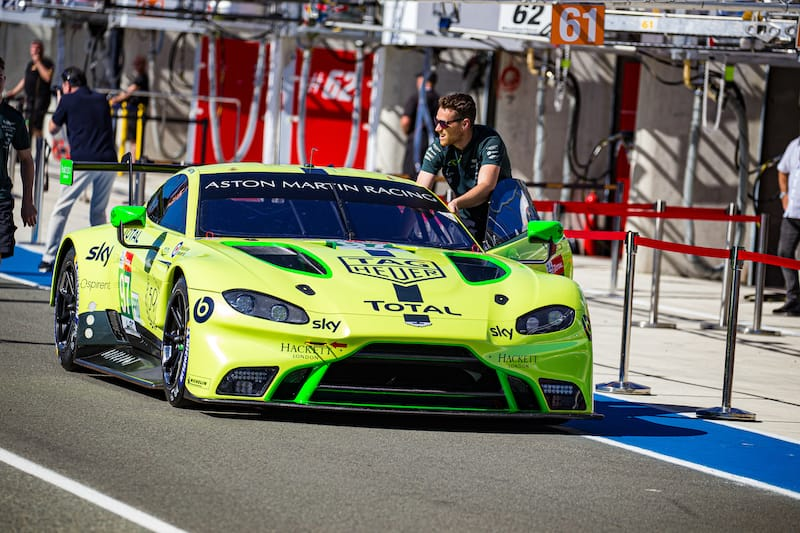 The Aston Martin Racing #97 LM GTE Pro entry Le Mans 2019