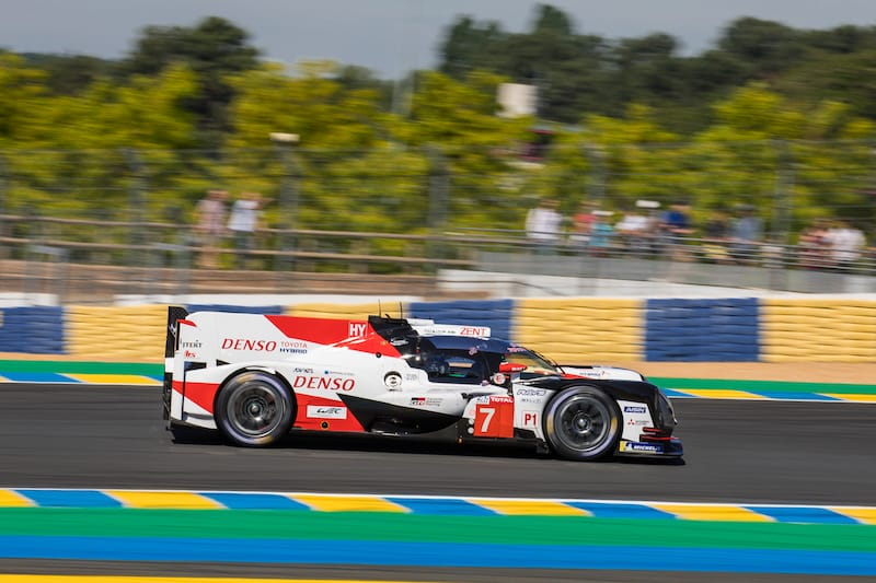 Toyota Gazoo Racing led the way in the practice session for the 24 Hours of Le Mans