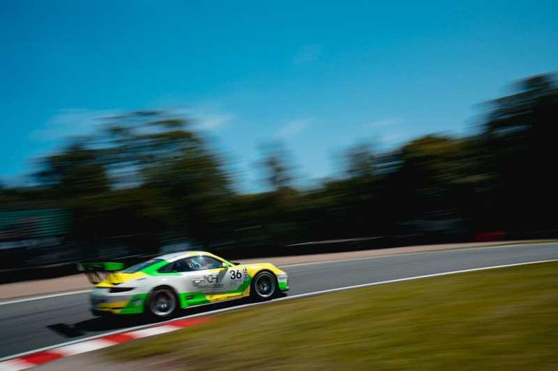 Karl Leonard - Porsche Carrera Cup GB - Outlon Park