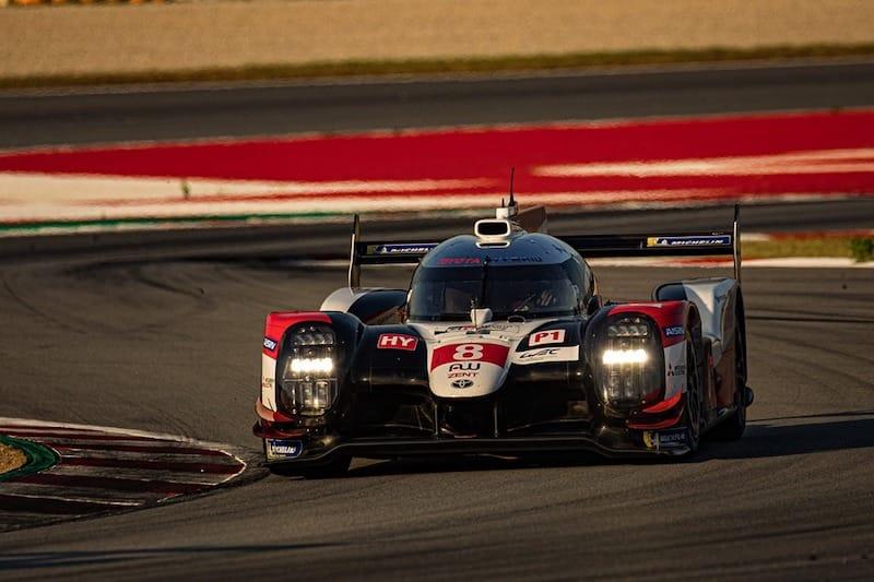 Toyota Gazoo Racing at Sunset, Circuit de Barcelona-Catalunya