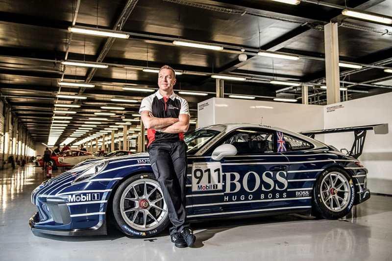 Chris Hoy - Porsche Mobil 1 Supercup