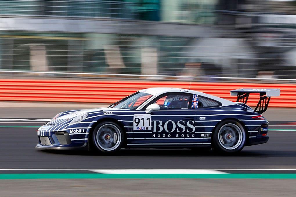 Chris Hoy - Porsche Mobil 1 Supercup - Silverstone