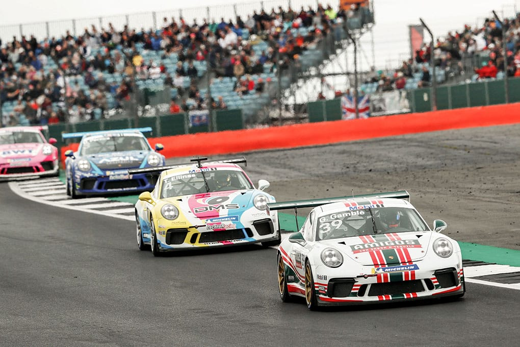 George Gamble - JTR - Porsche Mobil 1 Supercup - Silverstone