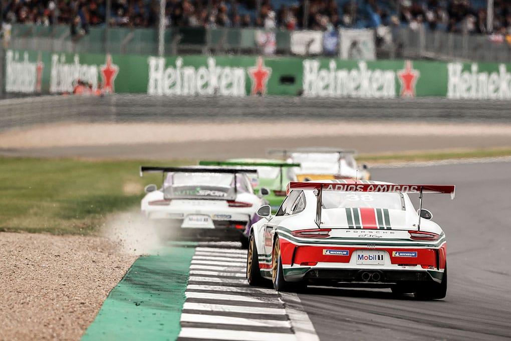 Seb Perez - JTR - Porsche Mobil 1 Supercup - Silverstone