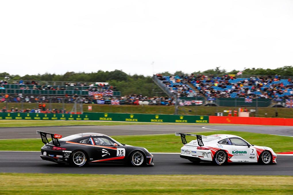 Larry ten Voorde - Jaxon Evans - Porsche Mobil 1 Supercup