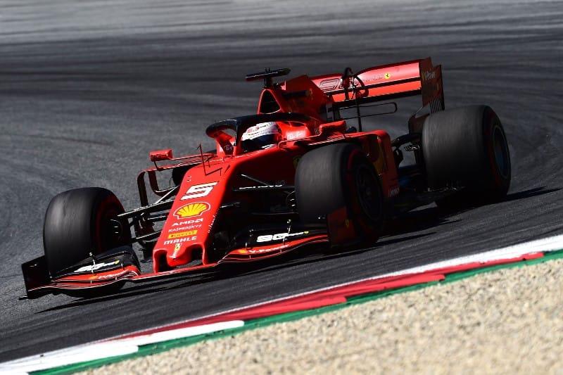 Vettel - Ferrari - Austria F1