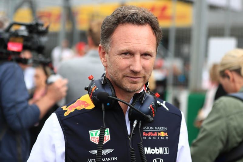 Christian Horner - Aston Martin Red Bull Racing at the 2019 Formula 1 British Grand Prix - Silverstone - Race