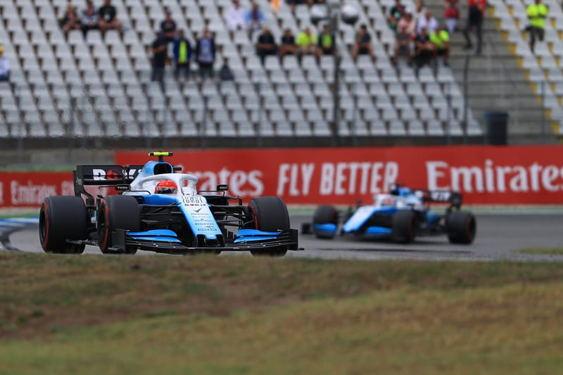 Robert Kubica - ROKiT Williams Racing at the 2019 Formula 1 German Grand Prix - Hockenheimring - Race
