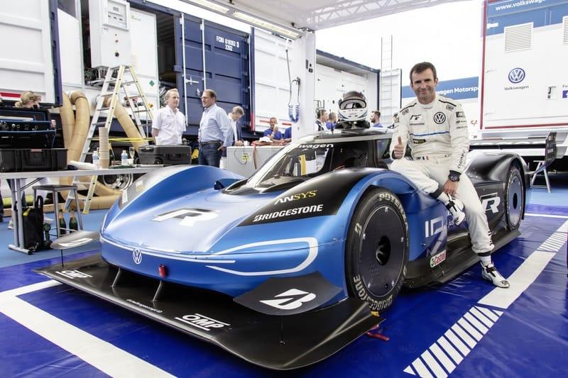 Romain Dumas - Volkswagen ID.R - 2019 Goodwood Festival of Speed
