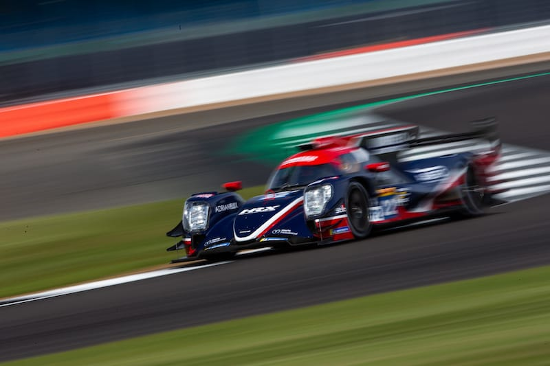 United Autosports on track at Silverstone for the 4 Hours WEC event, 2019