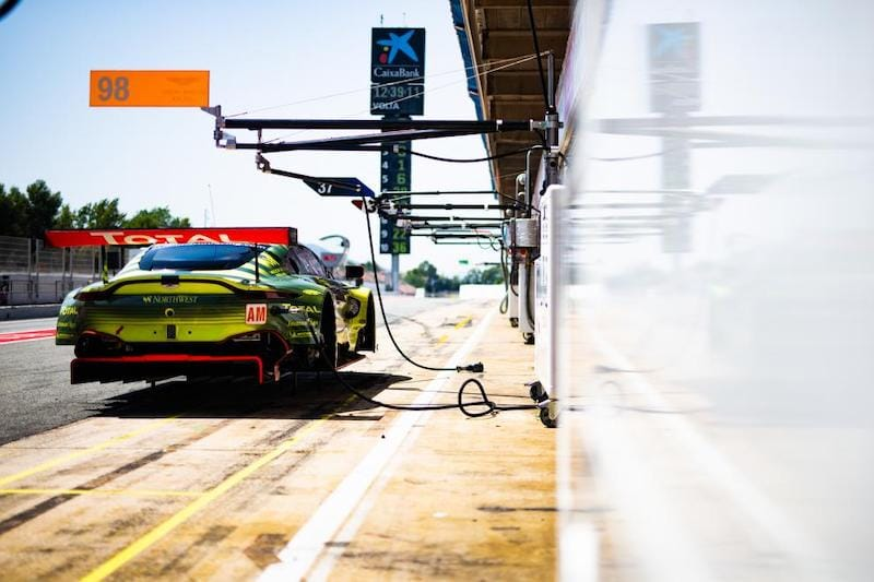The #98 Aston Martin Am team has a whole new line-up for the 2019/20 season