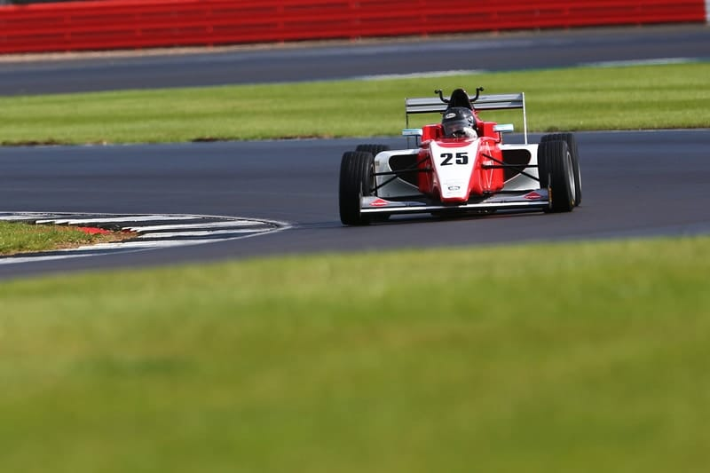 Nicolas Varrone during race two at Silverstone GP circuit