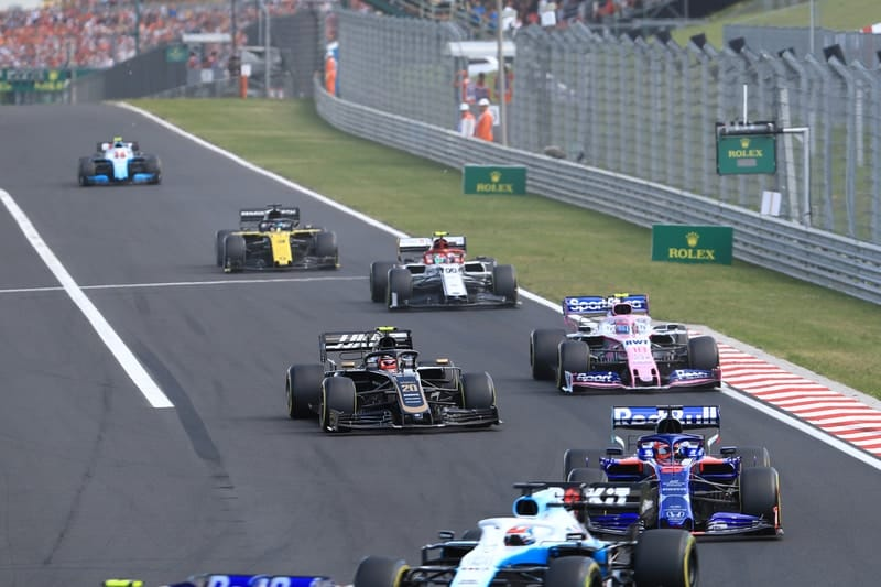 Race start - Formula 1 - 2019 Hungarian GP