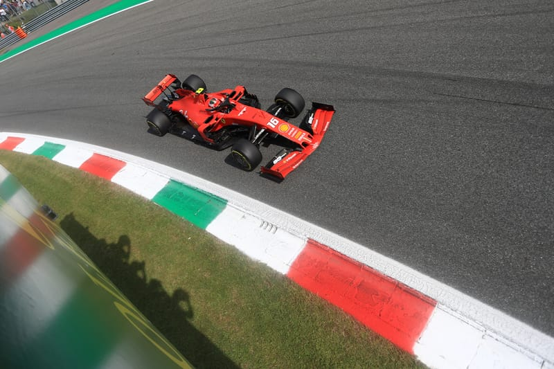 Charles Leclerc - Scuderia Ferrari Mission Winnow in the 2019 Formula 1 Italian Grand Prix - Autodromo Nazionale Monza - Qualifying