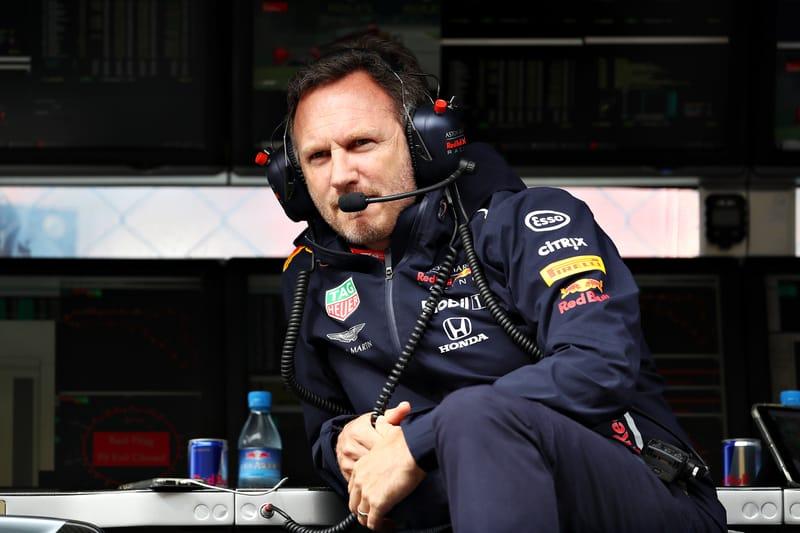 Christian Horner - Aston Martin Red Bull Racing at the 2019 Formula 1 Italian Grand Prix - Autodromo Nazionale Monza - Practice 1