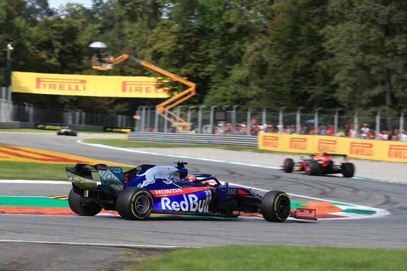 Daniil Kvyat - Red Bull Toro Rosso Honda in the 2019 Formula 1 Italian Grand Prix - Autodromo Nazionale Monza - Race